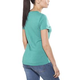 Meru Enköping Camiseta Lana Manga Corta Mujer, turkish tile